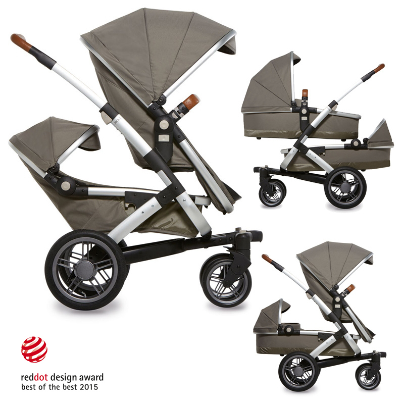 Joolz GEO TWIN Elephant Grey